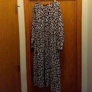 Ulla Popken Empire A-line Cotton knit Dress